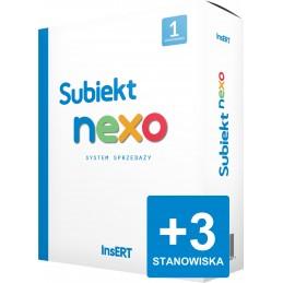 Subiekt nexo - rozszerzenie stanowisk