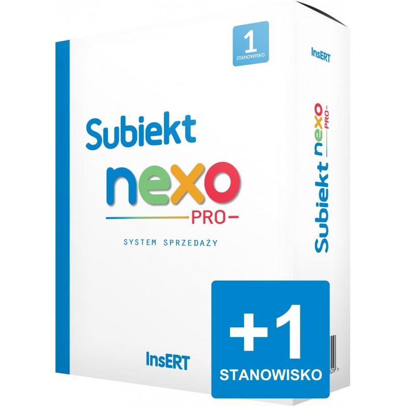 Subiekt nexo PRO - rozszerzenie stanowisk