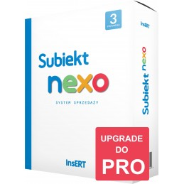 Upgrade z nexo do nexo PRO