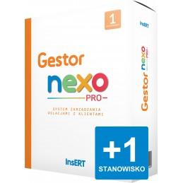 Gestor nexo PRO - rozszerzenie stanowisk
