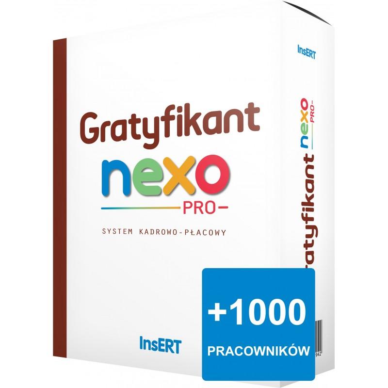 Gratyfikant nexo PRO - rozszerzenie proacowników