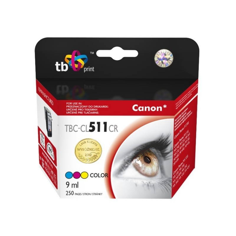 Tusz do Canon MP 240 TBC-CL511CR Kolor ref.