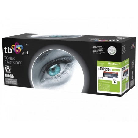 Toner do Brother TN2320N BK 100%nowy TB-TN2320N