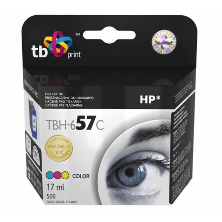 Tusz do HP Nr 57 - C6657A TBH-657C Kolor ref.