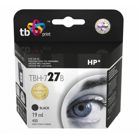 Tusz do HP Nr 27 - C8727A TBH-727B BK ref.