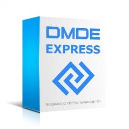 DMDE Express - program do odzyskiwania danych