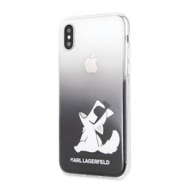 Karl Lagerfeld Choupette Fun Sunglasses - Etui iPhone Xs / X (Black)