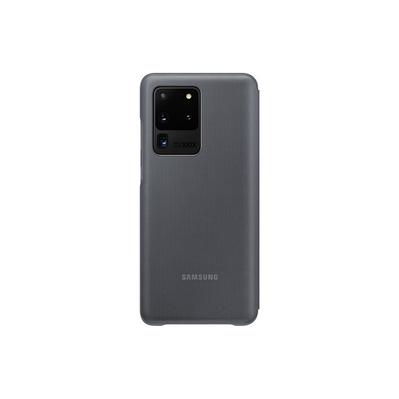 Samsung LED View Cover - Etui Samsung Galaxy S20 Ultra (Gray)