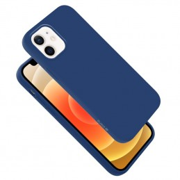 Crong Color Cover - Etui iPhone 12 Mini (granatowy)