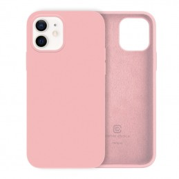 Crong Color Cover - Etui iPhone 12 Mini (rose pink)