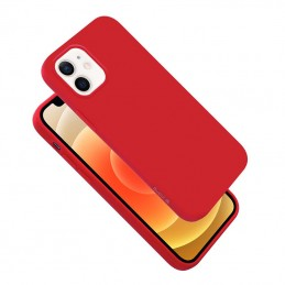 Crong Color Cover - Etui iPhone 12 Mini (czerwony)