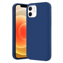 Crong Color Cover - Etui iPhone 12 / iPhone 12 Pro (granatowy)