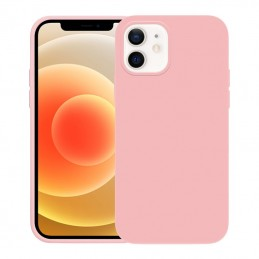 Crong Color Cover - Etui iPhone 12 / iPhone 12 Pro (rose pink)
