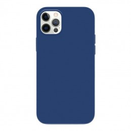 Crong Color Cover - Etui iPhone 12 Pro Max (granatowy)
