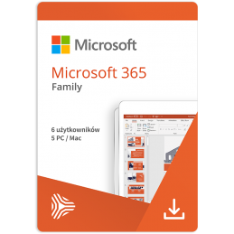 Microsoft 365 Home ESD - 5...