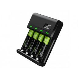 Zestaw ładowarka Green Cell GC VitalCharger i 4x baterie akumulatorki AAA / HR03 800mAh