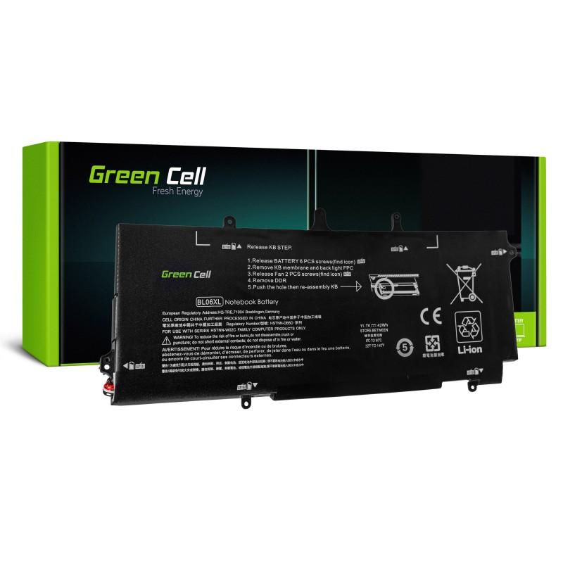 Green Cell Bateria do HP EliteBook Folio 1040 G1 G2 / 11,1V 3784mAh