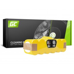 Bateria Akumulator Green Cell do iRobot Roomba 80501 510 530 540 550 560 570 580 610 620 625 760 770 780 14.4V 4.5Ah