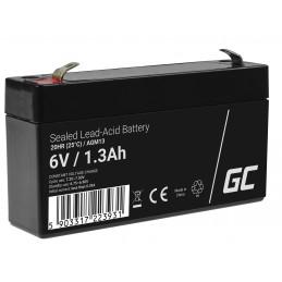 Akumulator AGM VRLA Green Cell 6V 1.3Ah