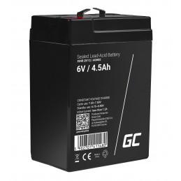 Akumulator AGM Green Cell 6V 4.5Ah