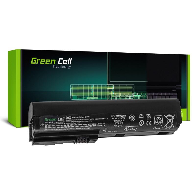 Green Cell Bateria do HP EliteBook 2560p 2570p / 11,1V 4400mAh