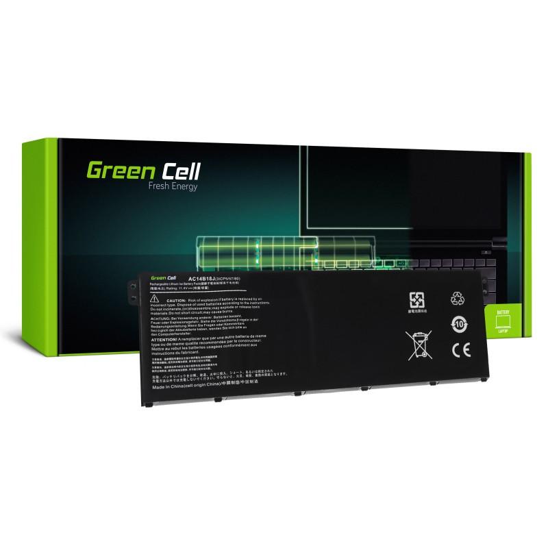 Green Cell Bateria do Acer Aspire E 11 ES1-111M ES1-131 E 15 ES1-512 / 11,4V 2200mAh