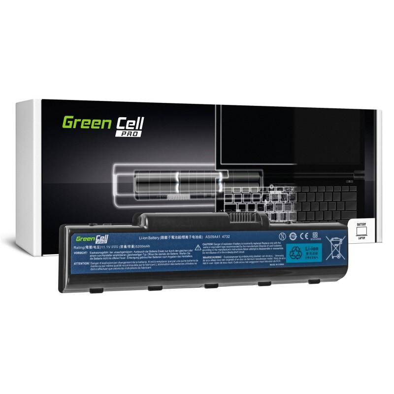 Green Cell PRO Bateria do Acer Aspire AS09A41 AS09A51 5532 5732Z 5734Z / 11,V 5200mAh