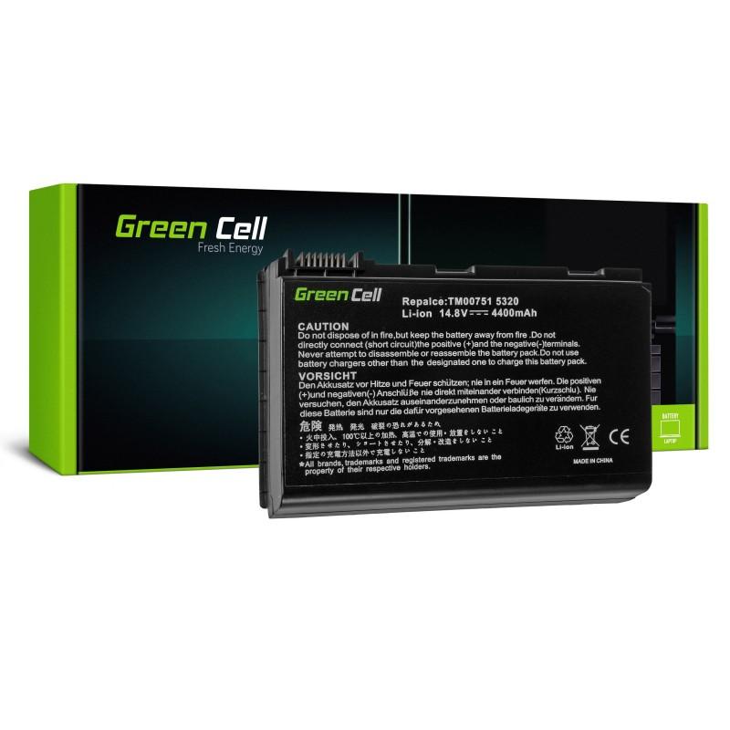 Green Cell Bateria do Acer TravelMate 5220 5520 5720 7520 7720 / 14,4V 4400mAh