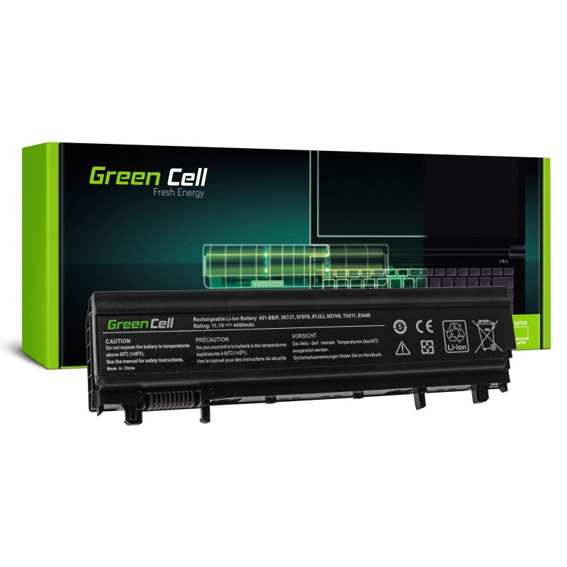 Green Cell Bateria do Dell Latitude E5440 E5540 P44G / 11,1V 4400mAh