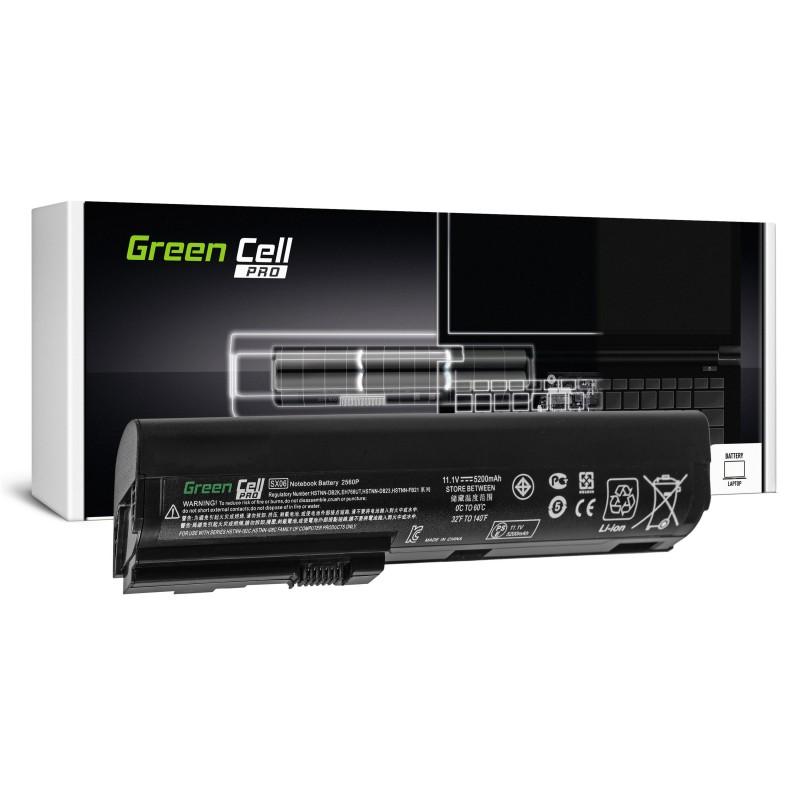 Green Cell PRO Bateria do HP EliteBook 2560p 2570p / 11,1V 5200mAh