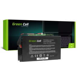 Green Cell Bateria do HP Envy 4-1000 4-1100 4-1120EW 4-1120SW 4-1130EW 14.8V / 14,4V 2700mAh