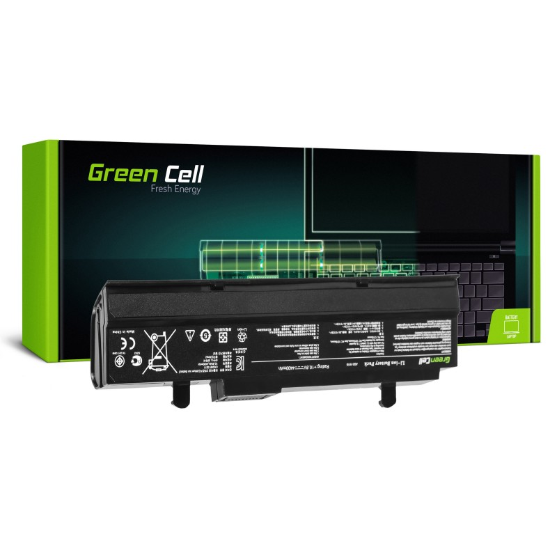 Green Cell Bateria do Asus Eee-PC 1015 1215 1215N 1215B (black) / 11,1V 4400mAh