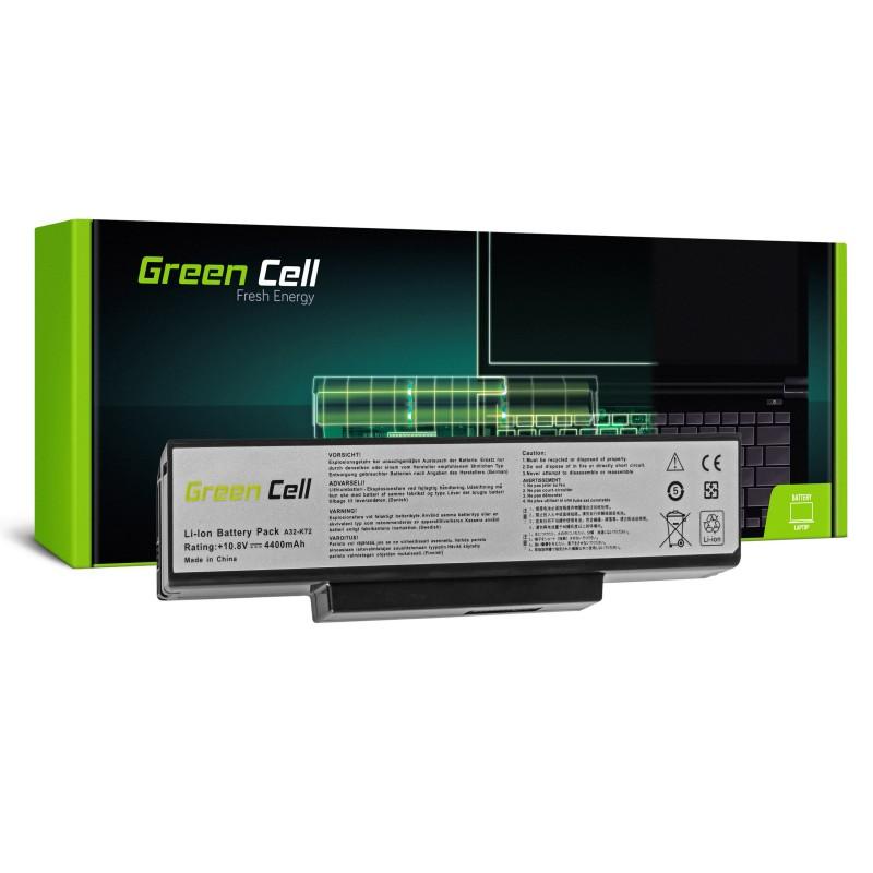 Green Cell Bateria do Asus A32-K72 K72 K73 N71 N73 / 11,1V 4400mAh