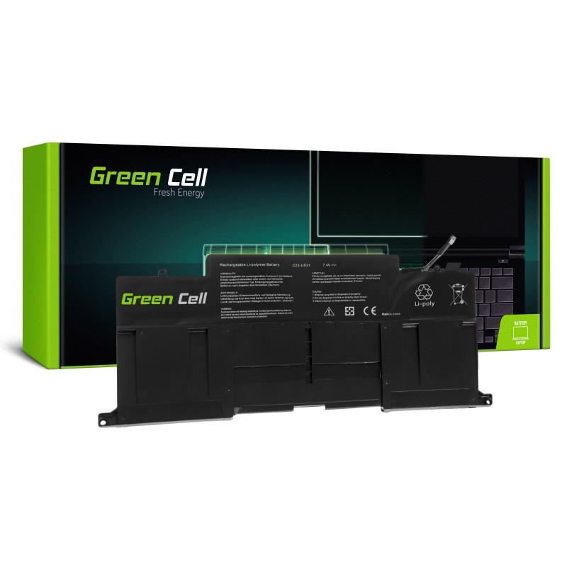 Green Cell Bateria do Asus ZenBook UX31 UX31A UX31E / 7,4V 6800mAh