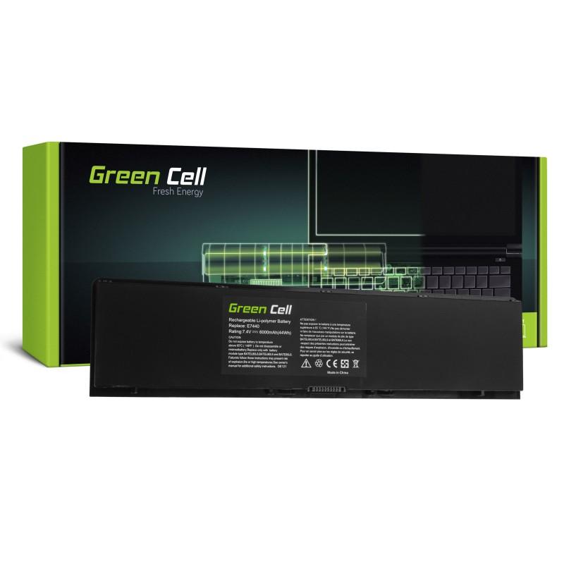 Green Cell Bateria do Dell Latitude E7440 / 7,4V 6000mAh