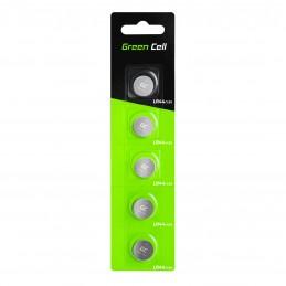 Blister 5x Bateria Litowa Green Cell LR44 1.5V Guzikowa Pastylkowa