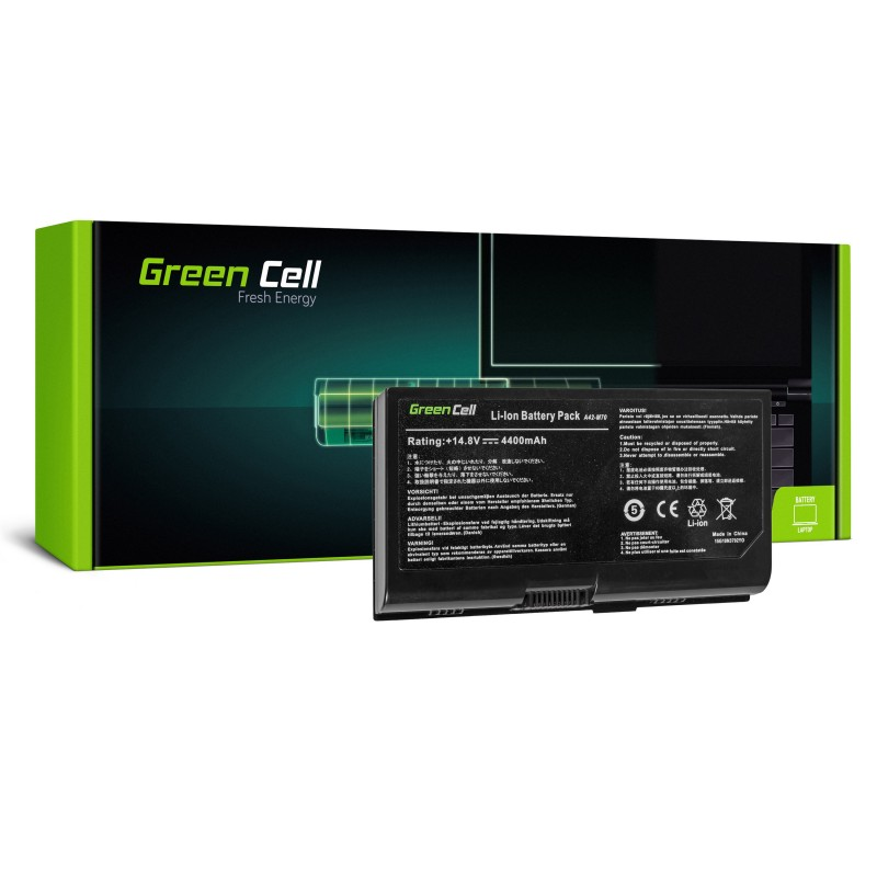 Green Cell Bateria do Asus G71 G72 F70 M70 X71 / 14,4V 4400mAh