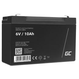 Akumulator AGM VRLA Green Cell 6V 10Ah