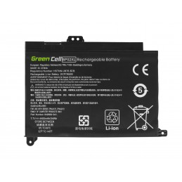 Bateria Green Cell BP02XL do HP Pavilion 15-AU 15-AU051NW 15-AU071NW 15-AU102NW 15-AU107NW 15-AW 15-AW010NW