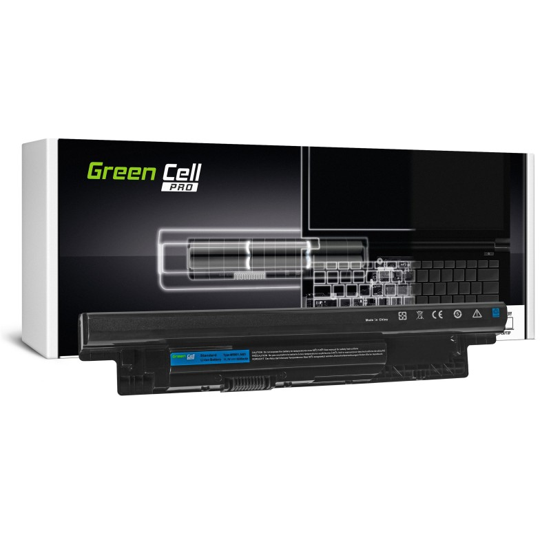 Green Cell PRO Bateria do Dell Inspiron 3521 5521 5537 5721 / 11,1V 5200mAh