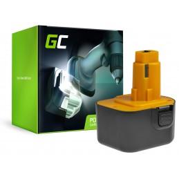 Bateria Akumulator Green Cell do DeWalt DE9037 DE9071 DE9074 12V 1.5Ah