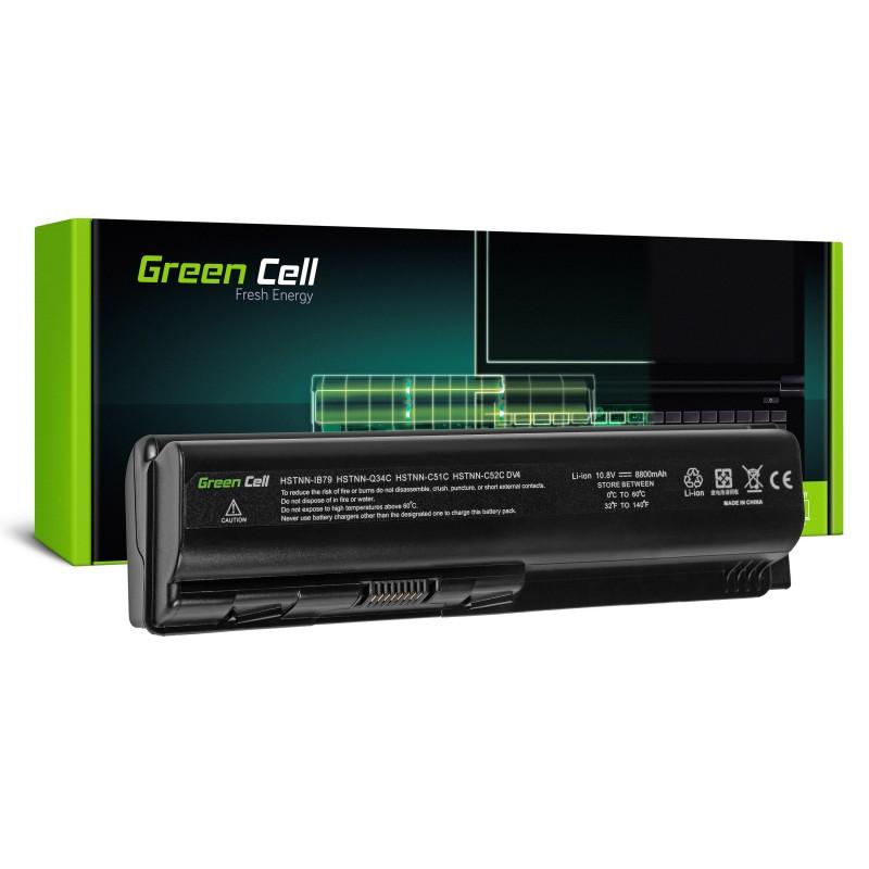 Green Cell Bateria do HP DV4 DV5 DV6 CQ60 CQ70 G50 G70 / 11,1V 8800mAh
