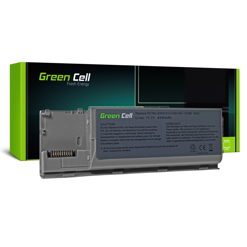 Green Cell Bateria do Dell Latitude D620 D630 D630N D631 / 11,1V 4400mAh