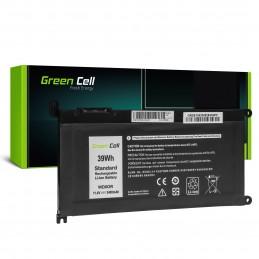 Bateria Green Cell WDX0R WDXOR do Dell Inspiron 13 5368 5378 5379 14 5482 15 5565 5567 5568 5570 5578 5579 7560 7570 17 5770
