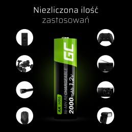 Green Cell Akumulator 2x AA HR6 2000mAh