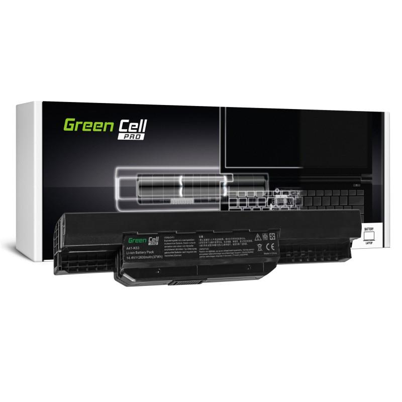 Green Cell PRO Bateria do Asus A31-K53 X53S X53T K53E / 14,4V 2600mAh