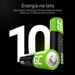 Green Cell 4x Akumulator AA HR6 2000mAh