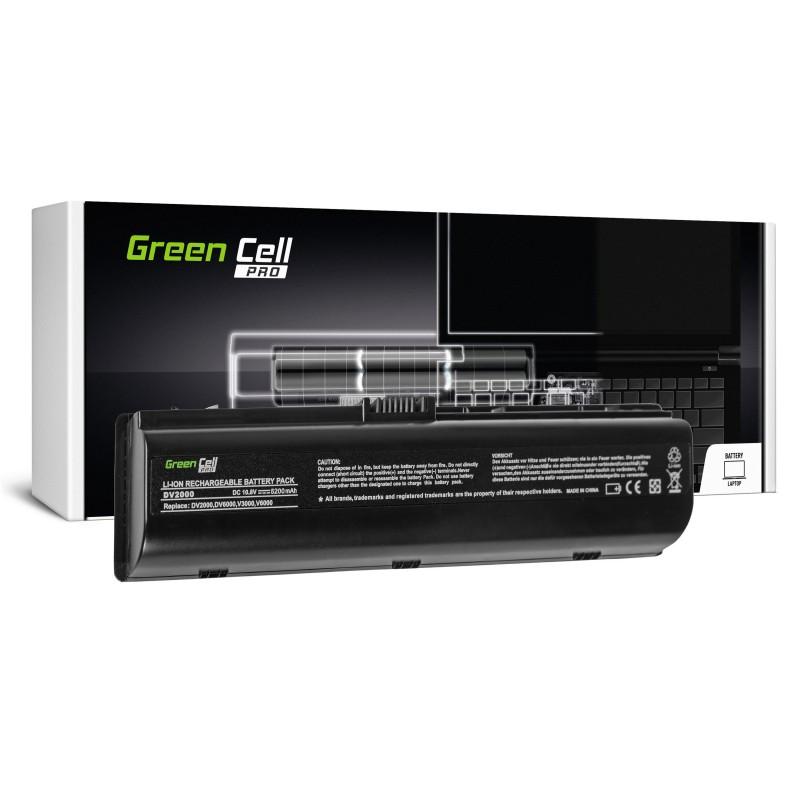 Green Cell PRO Bateria do HP Pavilion DV2000 DV6000 DV6500 DV6700 / 11,1V 5200mAh