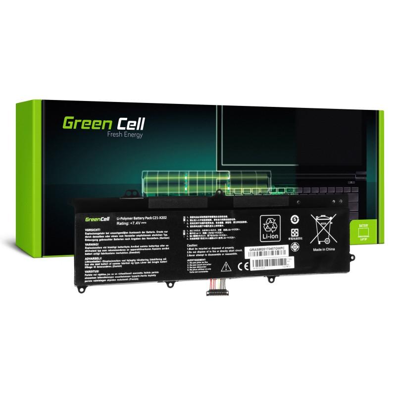 Green Cell Bateria do Asus VivoBook F202E Q200E S200E X202E / 7,4V 4500mAh