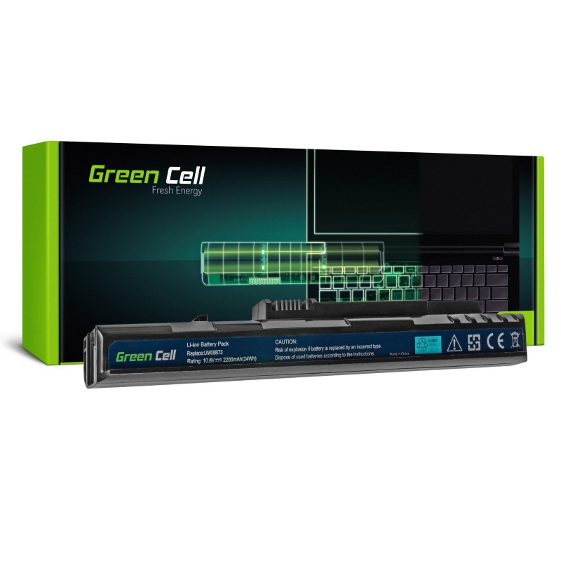 Green Cell Bateria do Acer Aspire One A110 A150 D150 D250 ZG5 / 11,1V 2200mAh